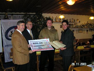 Verleihung des Jugendpreises